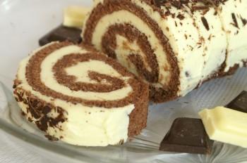 Rolada czekoladowa