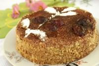 Tort śliwkowo-czekoladowy