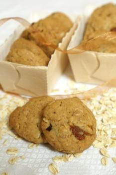 Ciasteczka z melasą i płatkami owsianymi